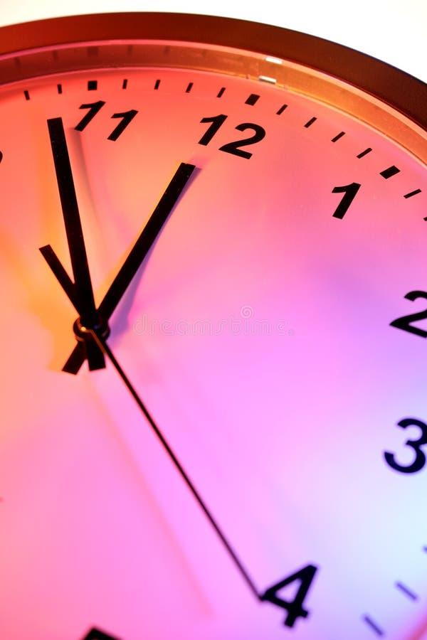 сторона часов стоковое фото rf