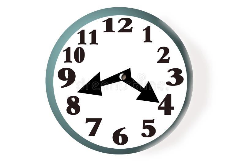 Download сторона часов иллюстрация штока. иллюстрации насчитывающей график - 80930