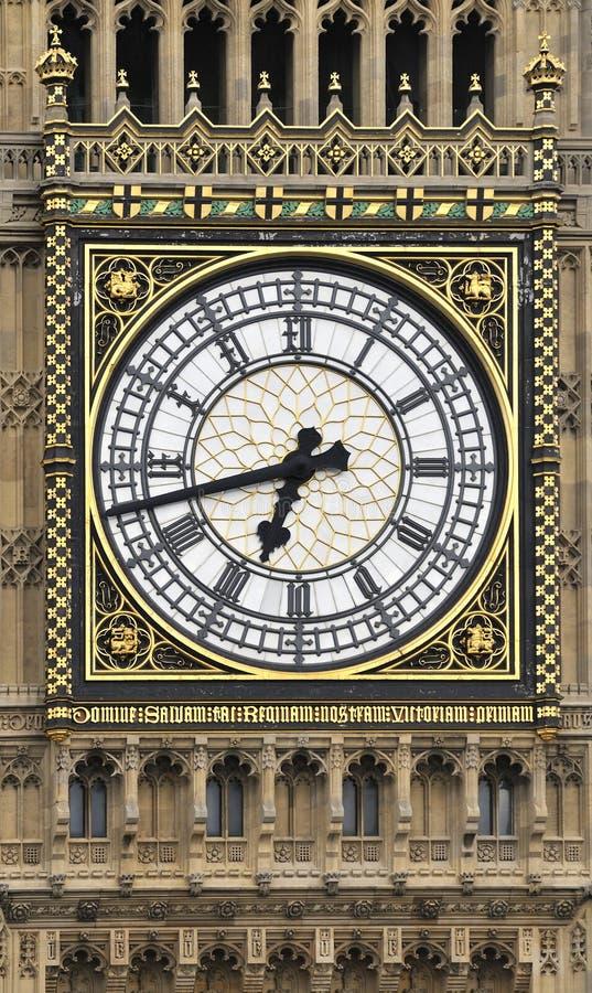 сторона часов ben большая стоковое фото rf