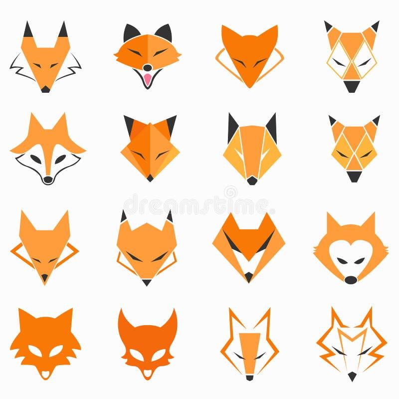 Сторона Fox иллюстрация вектора