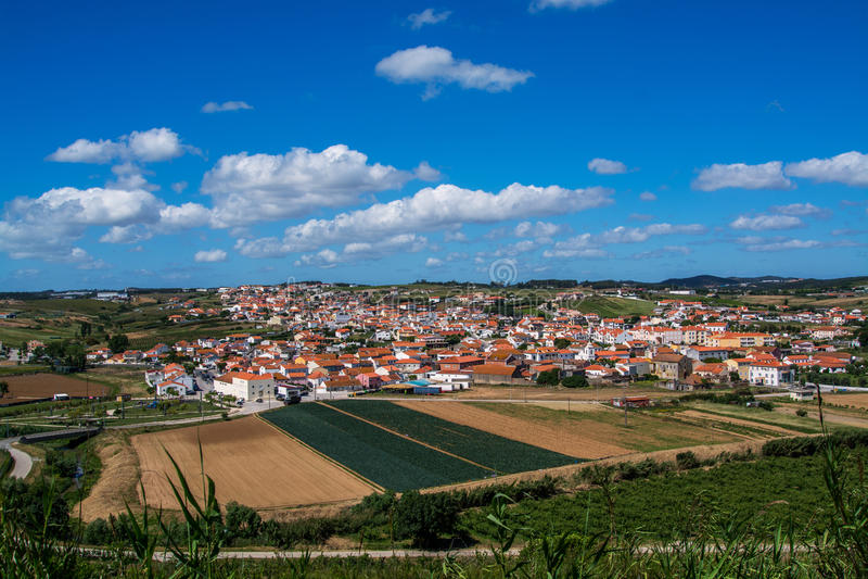 Сторона Torres Vedras Португалия страны стоковые фото