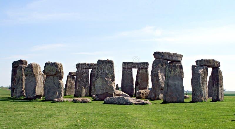 Стоунхендж, старый доисторический каменный памятник стоковое изображение rf