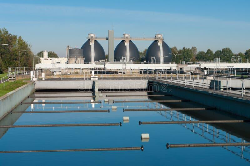 сточные воды завода стоковая фотография rf