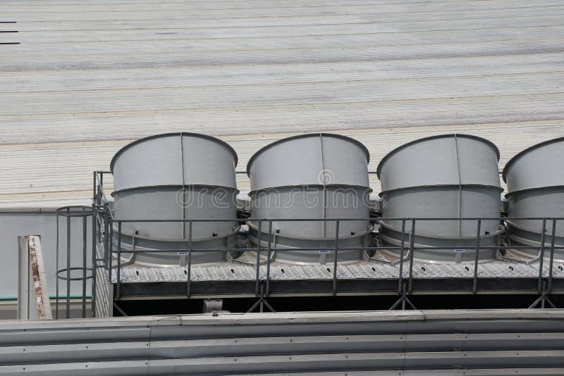 Стояки водяного охлаждения воды стоковые фото