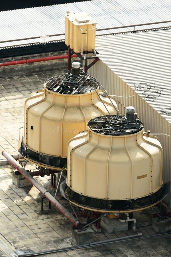 стояки водяного охлаждения стоковые фотографии rf