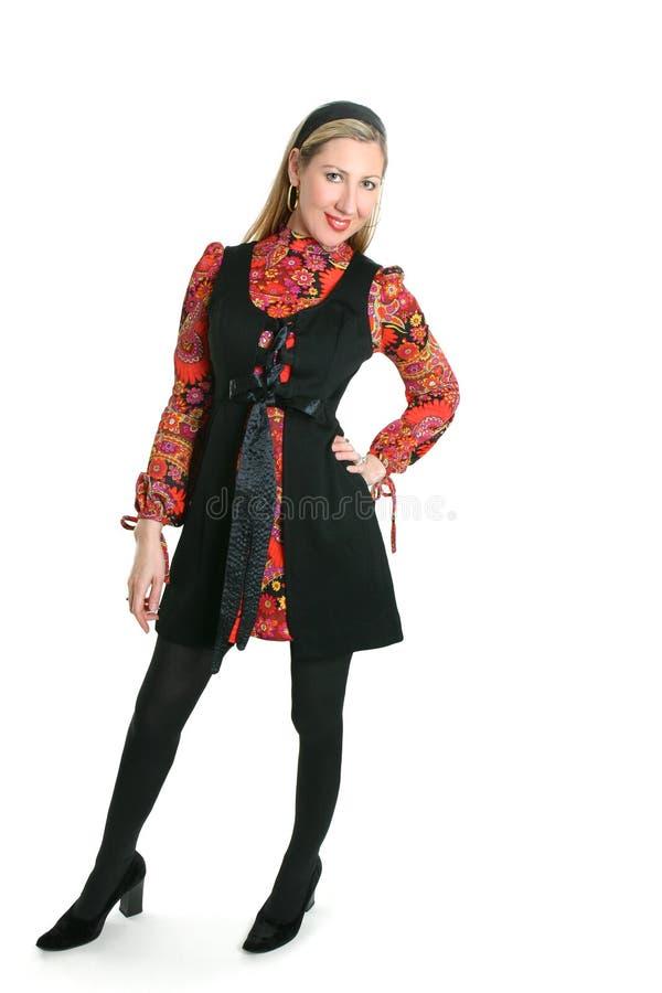 стоящая женщина стоковая фотография