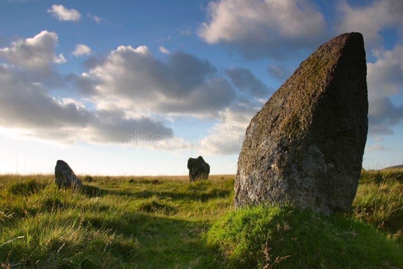 стоящий камень стоковое изображение rf