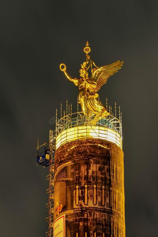 Столбец победы - Берлин стоковые изображения rf