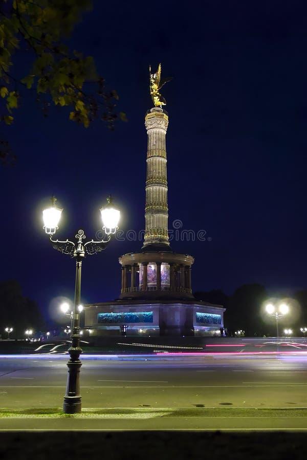 Столбец победы в Берлине, Германии стоковые изображения
