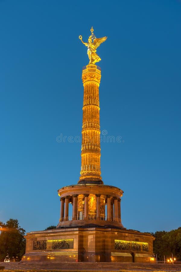 Столбец победы в Берлине стоковое изображение