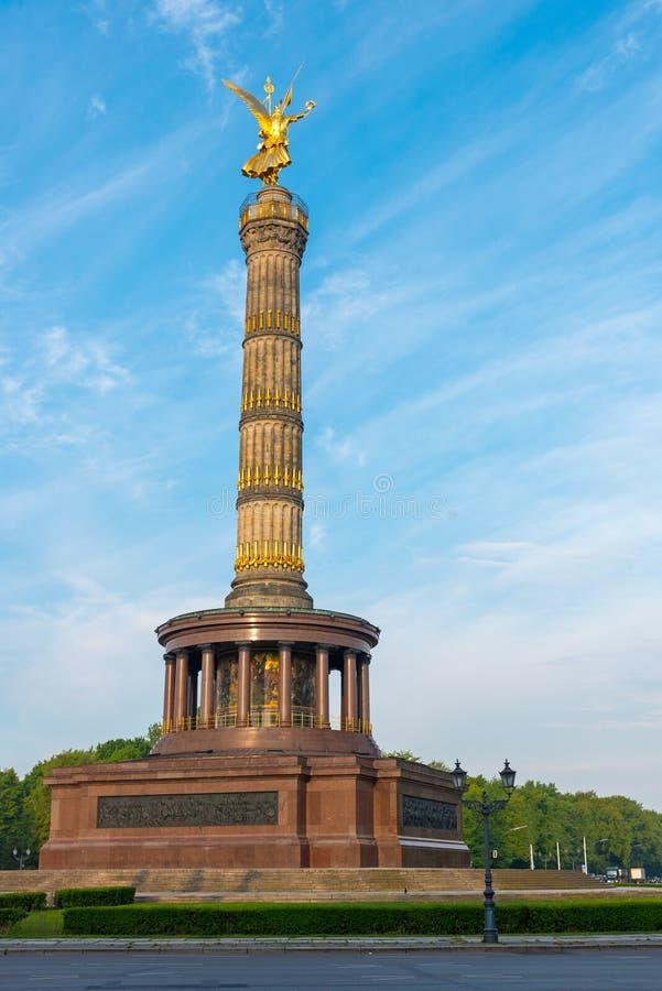 Столбец победы в Берлине стоковая фотография