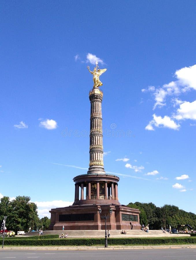 Столбец победы в Берлине (Siegessaule) стоковое фото