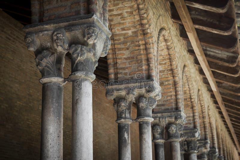 Столбцы монастыря, des Jacobins Couvent стоковое изображение rf