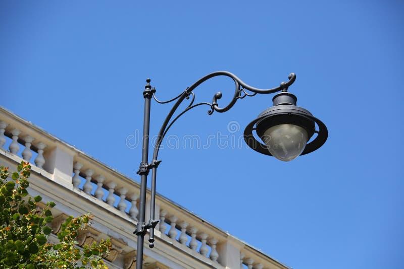 Столб лампы стоковая фотография rf