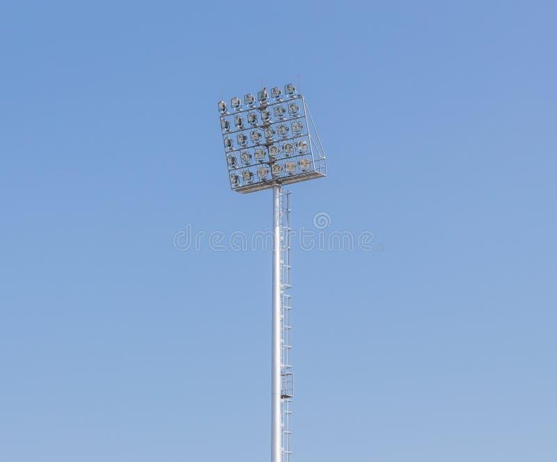 Столб спорта светлый стоковое фото