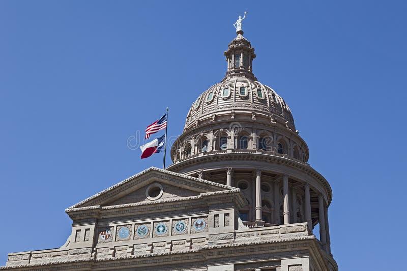 Столица государства Техас-Остина стоковое изображение