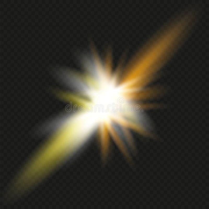 Столкновение 2 сил с красным и голубым светом также вектор иллюстрации притяжки corel Концепция взрыва иллюстрация штока