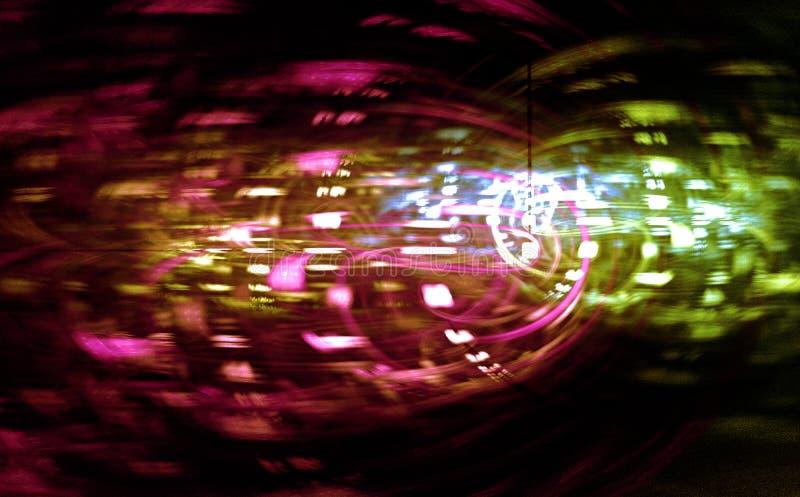 Столкновение Datastream стоковая фотография rf