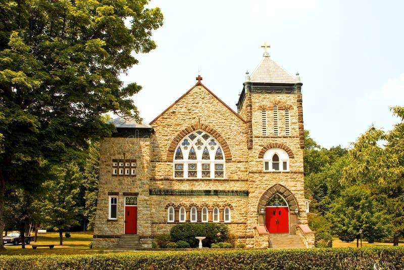 страна церков привлекательно старомодный стоковые фото