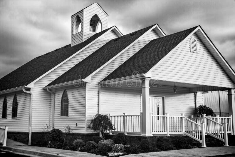 1 страна церков стоковая фотография rf