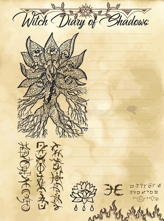 Страница 8 дневника ведьмы 31 бесплатная иллюстрация