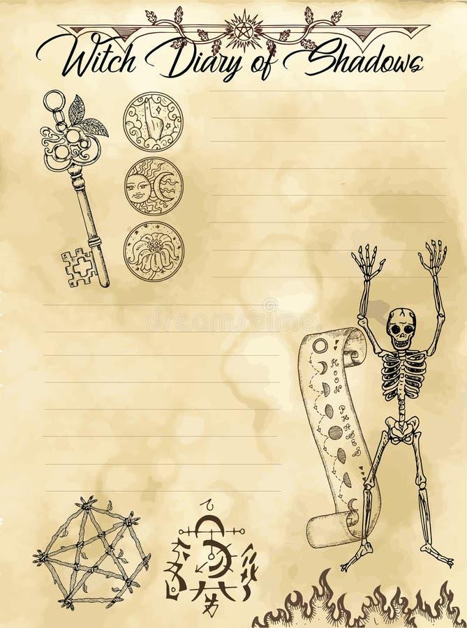 Страница 3 дневника ведьмы 31 иллюстрация штока
