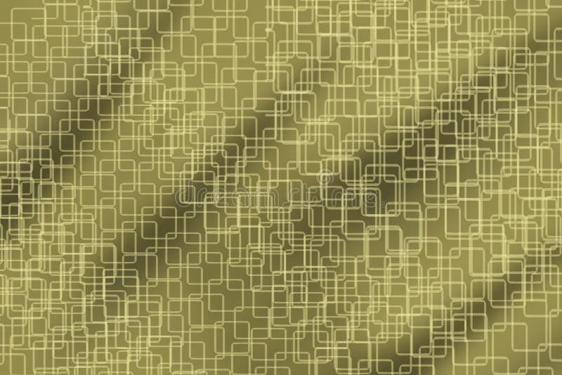 Страница желтого цвета, серых и белых текстурированная иллюстрация вектора