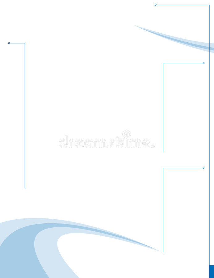 страница плана swooshy бесплатная иллюстрация