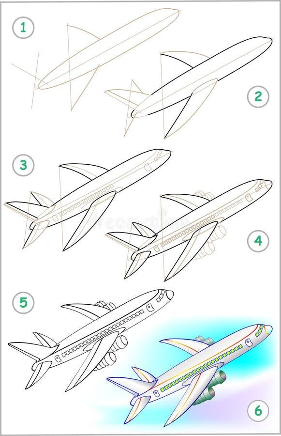 Учимся рисовать самолетов