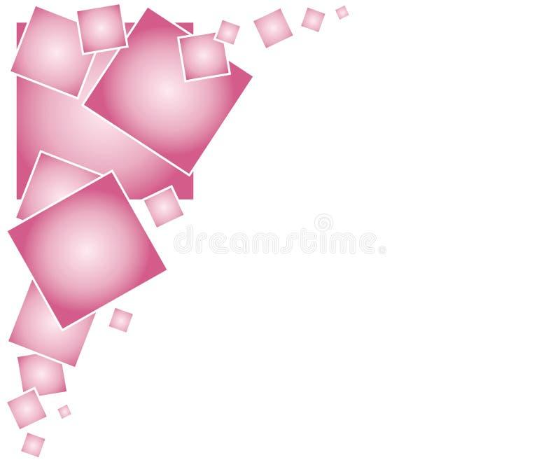 страница предпосылки придает квадратную форму сети иллюстрация штока