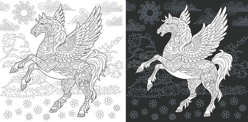 Страница расцветки фантазии бесплатная иллюстрация