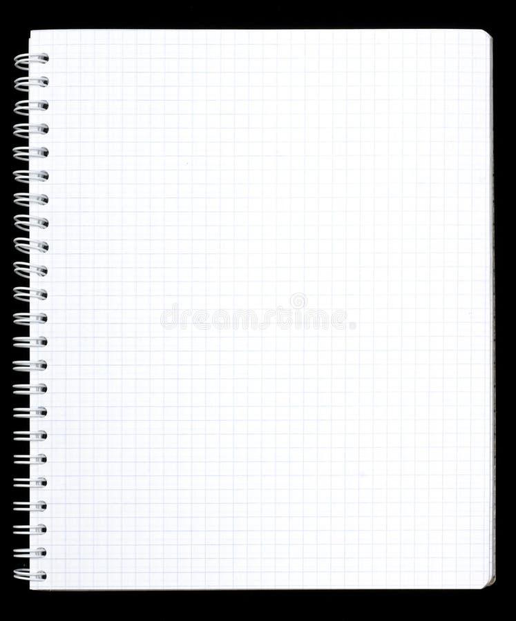 страница тетради стоковые фото