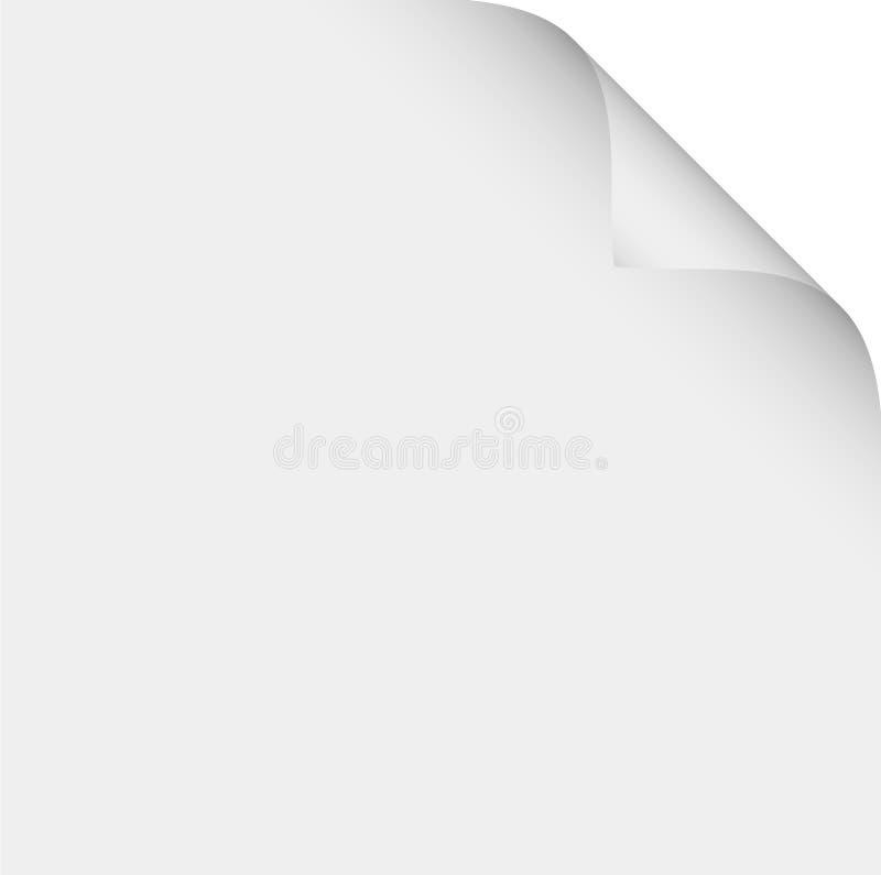 страница иллюстрация вектора