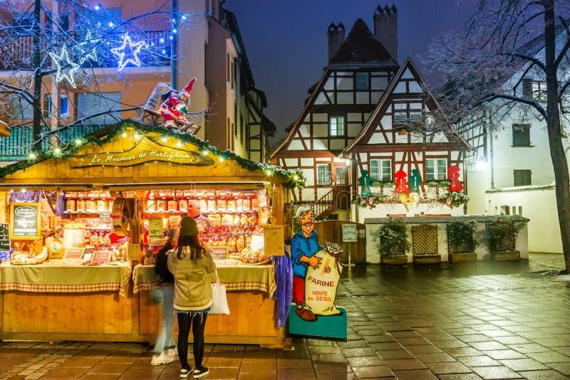 Страсбург, Эльзас, Франция - Capitale de Noel стоковая фотография rf