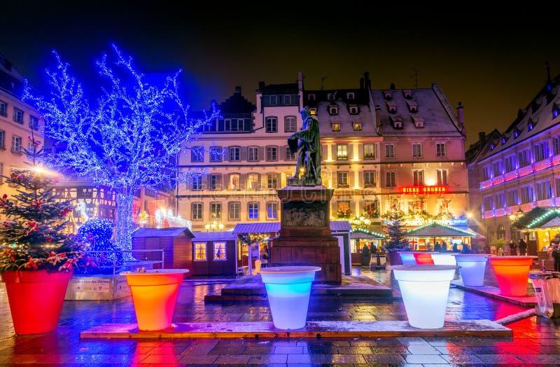Страсбург, Эльзас, Франция - Capitale de Noel стоковые изображения rf