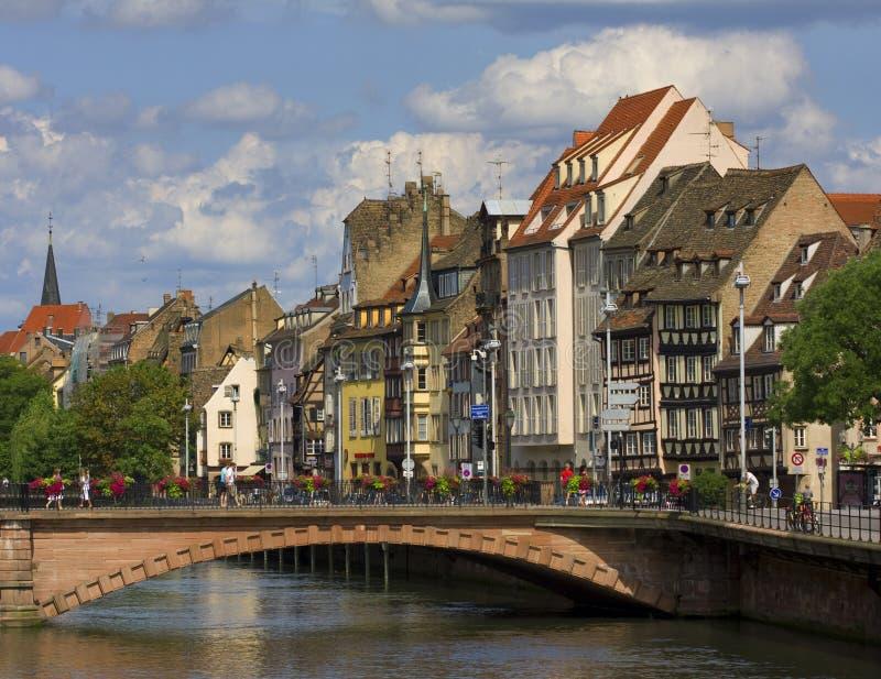 страсбург стоковое изображение rf