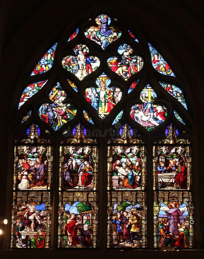 Страсть и воскресение Христоса стоковые фотографии rf