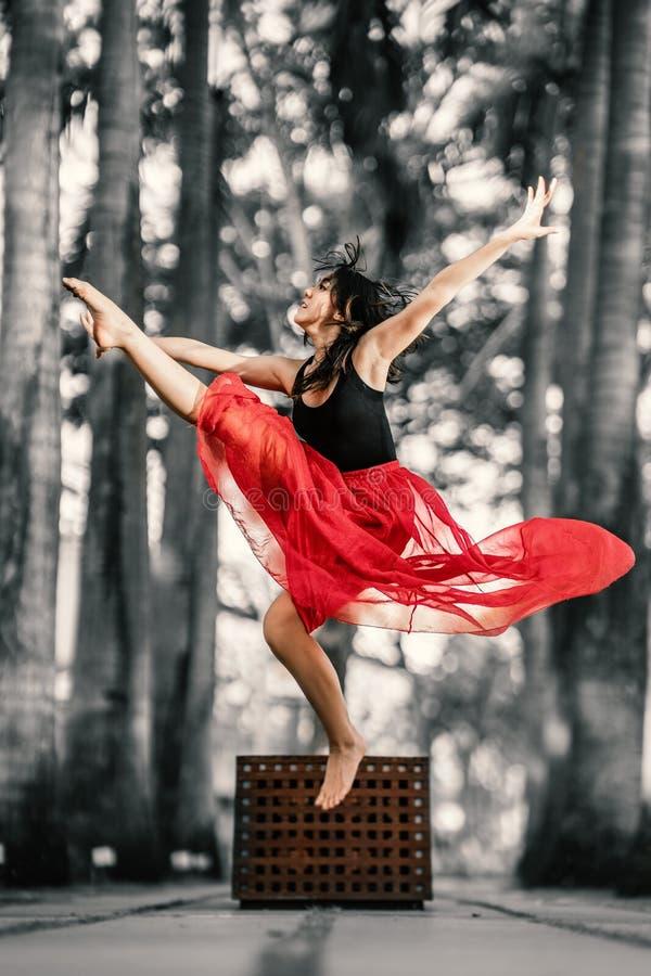 страсть Красивый молодой представлять танцора стоковое изображение