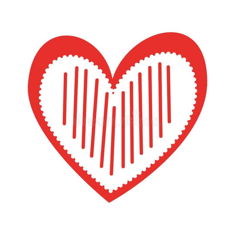 Страсть романс любов сердца украшает нашивки бесплатная иллюстрация