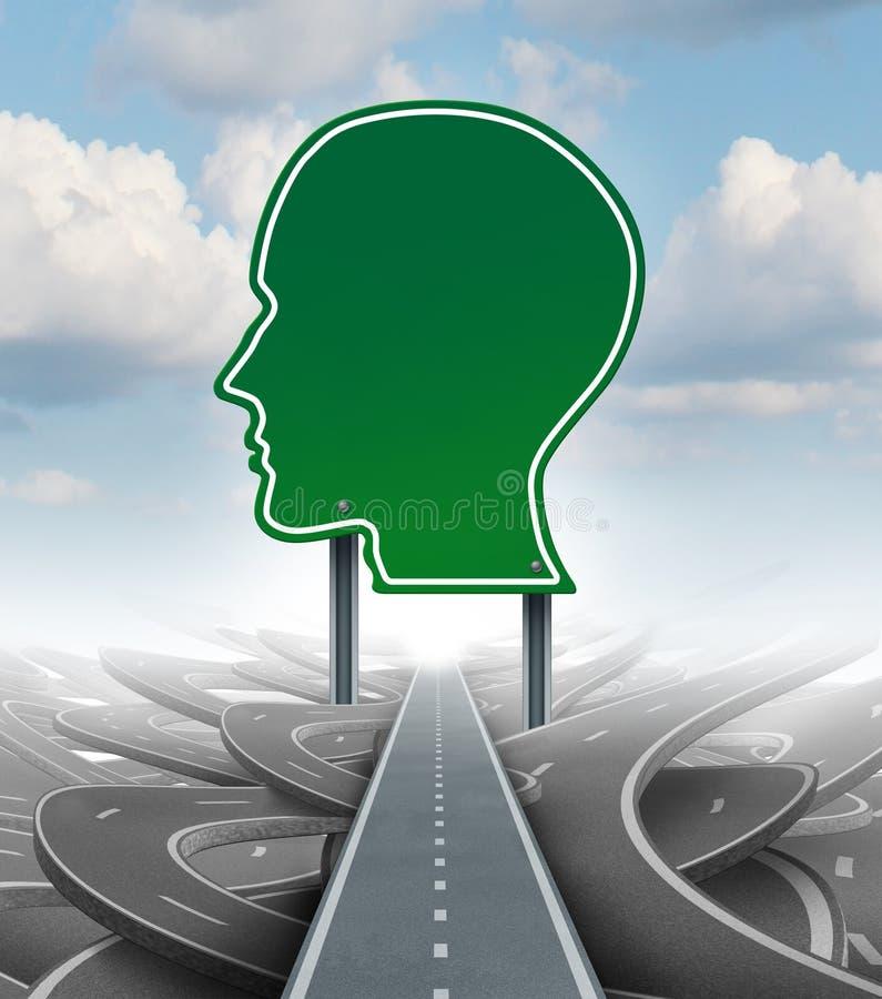 Стратегическое направление иллюстрация штока