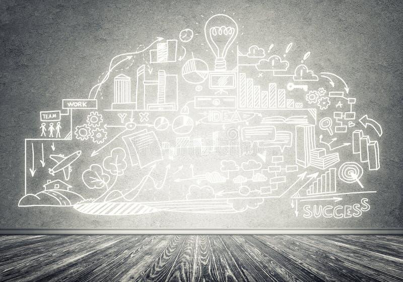 Стратегия бизнеса и планирование стоковые изображения rf
