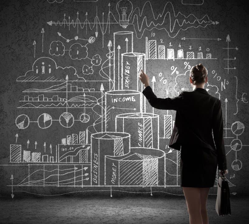 Download Стратегия бизнеса стоковое фото. изображение насчитывающей диаграмма - 41650822