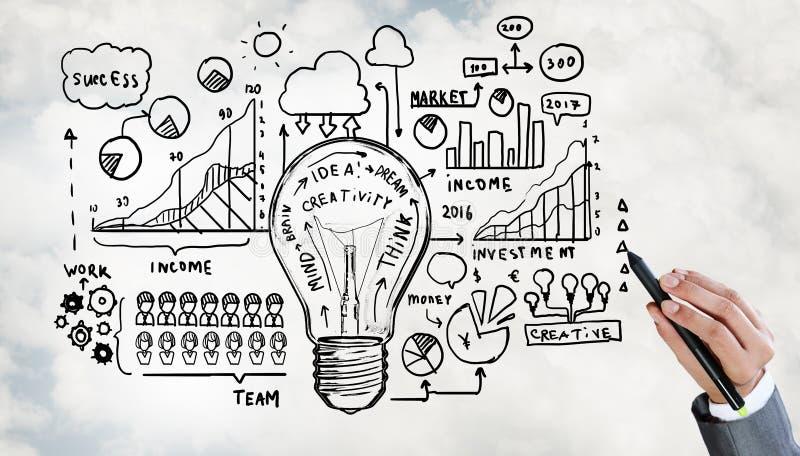 Стратегия бизнеса стоковые изображения rf