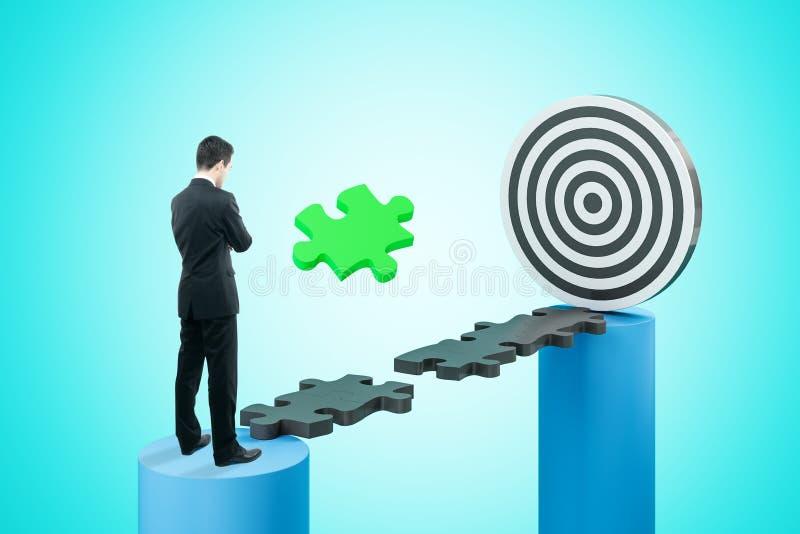 Стратегия и концепция нацеливания бесплатная иллюстрация