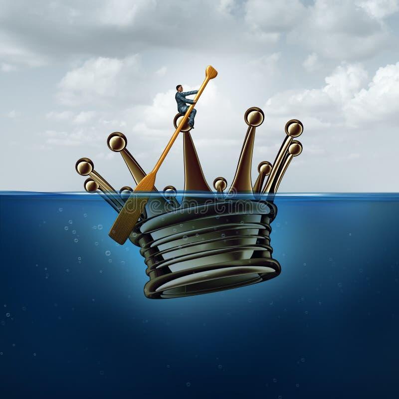 Стратегия управления руководства иллюстрация штока