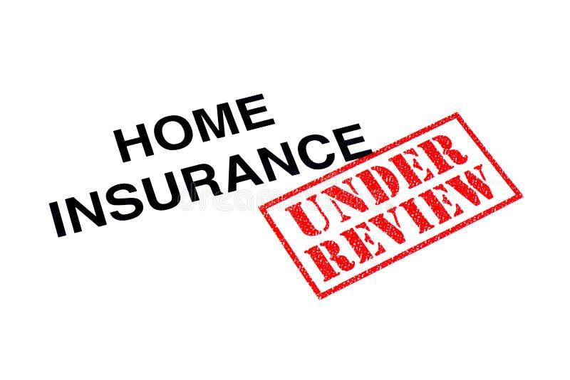 Страхование жилья под обзором стоковое изображение