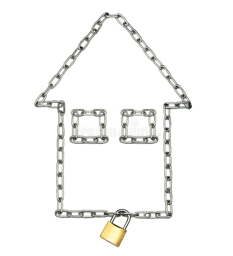 Страхование дома стоковое изображение