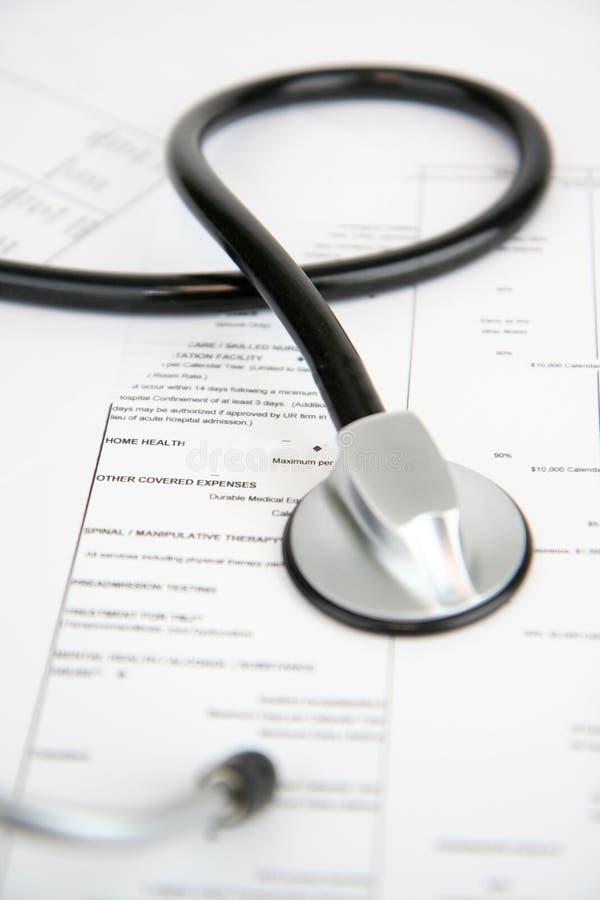 страхсбор медицинский стоковое изображение rf