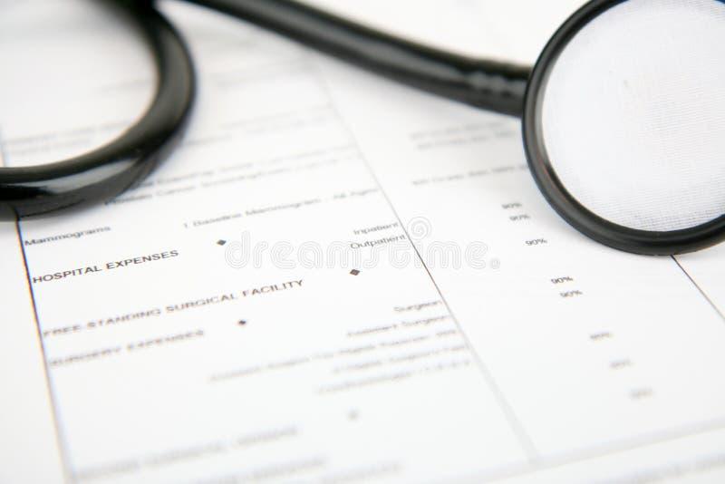 страхсбор медицинский стоковые изображения rf