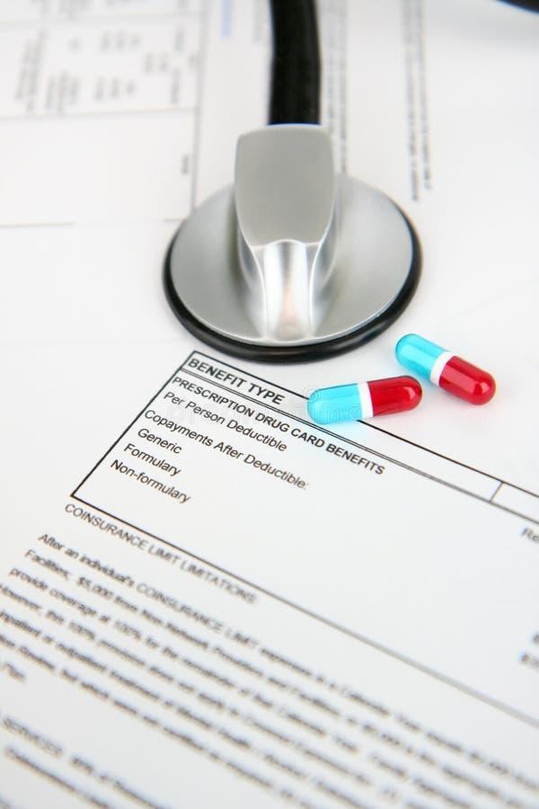 страхсбор медицинский стоковое изображение